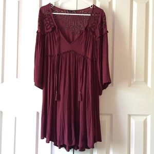 American Eagle Outfitters boho dress